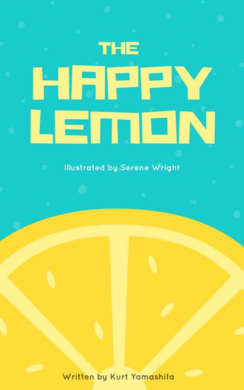 Canva yellow lemon children book cover mab   u clw